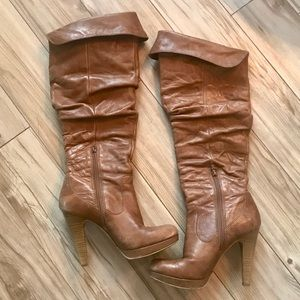 "Jessica Simpson ""Anne"" Over-the-knee heeled boots"